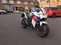 Honda cbr 125 2013 low mileage