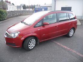 Vauxhall zafira 7 seater 12 months mot cheap mpv( not galaxy, s max, espace, touran)