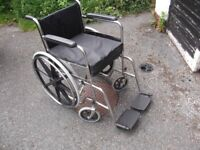 SELF PROPEL FOLDING WHEELCHAIR WITH CHUNKY MEMORY FOAM CUSHION CAN DELIVER