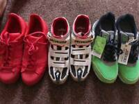 Adidas superstar / specialized pro / Brooks running trainers UK 9.5