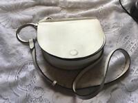 Brand new ladies shoulder bag Medium size White colour £5