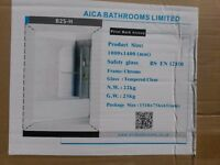 Pivot Bath Screen 1000 x 1400 mm B2S-H by Aica Bathrooms ltd