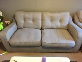 Harvey's 3 Seater Sofa and Cuddle Chair