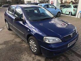 2003 Vauxhall astra 1.6 Envoy 5 Door New MOT Drives Excellently