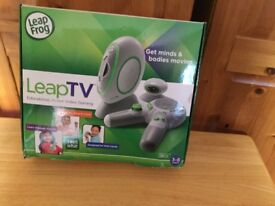 Leap frog leap tv educational devices in box.