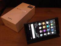 Sony Xperia XZ Premium - Deep Sea Black, 64 GB & Unlocked (Includes Official Case)