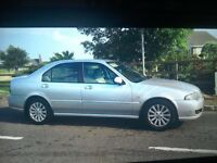 ### BARGAIN ### (06 MODEL) ROVER 45 1.6 PETROL ### BARGAIN ###