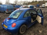 Volkswagen Beetle petrol car parts available