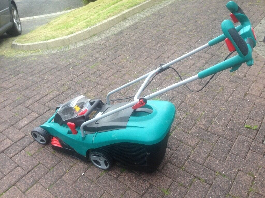 Bosch cordless electric mower for sale