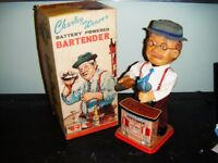 WANTED - 1962 CHARLIE WEAVER BARTENDER TOY