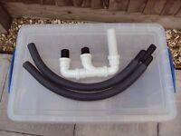 Caravan waste pipes