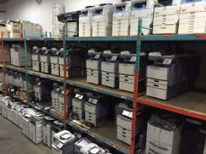 REFURBISHED COPIERS, PRINTERS, LARGE FORMAT FOR SALE/LEASE
