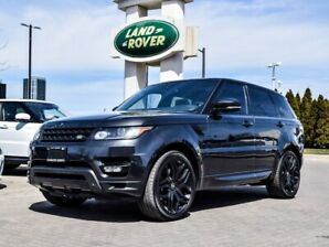 2015 Land Rover Range Rover Sport AUTOBIOGRAPHY WITH STEALTH PACK
