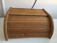 Wood Bread Storage
