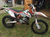show room condition ktm 300exc sixdays 2013 just done 7 Hours