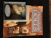 Vintage Porcelain Dolls Magazine. Edition 4. Magazine plus Porcelain Doll in Old Fashioned Pram.