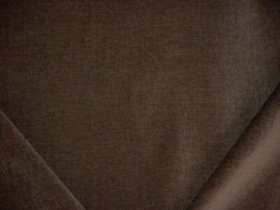 16-5/8Y KRAVET SMART 26837 LAVISH SADDLE BROWN STRIE CHENILLE UPHOLSTERY FABRIC