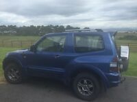 Mitsubishi Shogun 3.2 DiD - MOT Failure - Breaking or Repair.