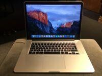**LIKE NEW** MacBook Pro Retina, 15-inch, 2.7 GHz Intel Core i7