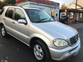 MERCEDES ML 320, 2 OWNERS, FULL SERVICE HISTORY