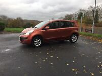 Nissan Note 5 door ,very good condition ,long mot ,first to view will buy px welocme