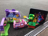 Lots of little people toys for sale