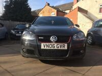 VW GOLF GTI 2006, BLACK 5 DOOR, AUTOMATIC, DSG, BARGAIN GTI HAS BEEN REMAPED, LOOKS AWESOME