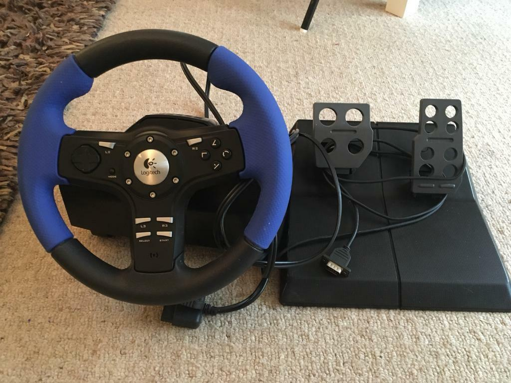 Logitech driving wheel