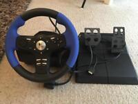 Logitech driving wheel