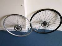 2 mtb wheels (front)