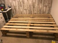 Home made Pallet bed