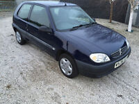 saxo 1.0 cc only 59k very LOW mileage - service history LONG mot very good driver same as 106