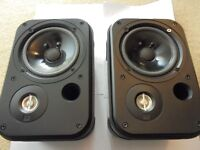 JBL Control One Rugged 2-Way 100mm (4 Inch) Bookshelf Audio Monitor Speakers (Pair) - Black Chrome