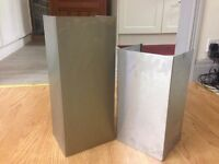 Stainless Steel Chimney Duct Cooker Hood Extension Covers