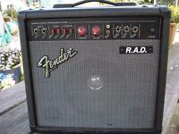 Fender RAD guitar amp.