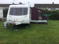 Swift Eccles Amythst 2006. 5 berth touring caravan