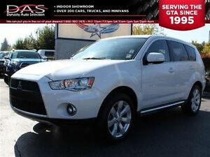 2010 Mitsubishi Outlander XLS AWD 7 PASS/LEATHER/SUNROOF