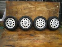 4 x BMW Z3/3 series 16 ins Alloy wheels good condition - now reduced