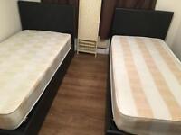 Brand new single storage bed plus mattress