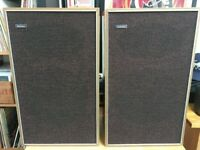 Genuine Goodman Havant Vintage Teak Speakers