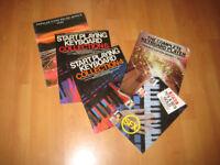 5 Keyboard /piano music books