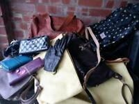 Bags/purses job lot £40
