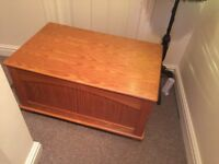 Ottoman solid wood good condition