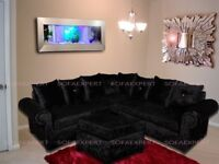 SPECIAL OFFER: BRAND NEW GLP VELVET SOFAS AT A REDUCED PRICE WITH EXPRESS DELIVERY!