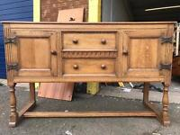 Robinson & sons of Hexham reproduction antique sideboard like old charm priory