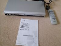 DVD Video Player with remote control. (Toshiba) Model SD140ESBA.