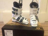 Salomon Kids Ski Boots- Mondo 20