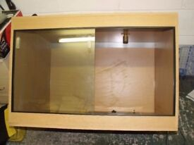 Vivarium and accessories only £70 the lot.