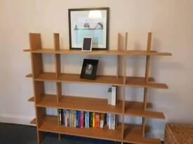 Contemporary Ikea bookshelf