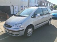 Ford galaxy 1.9 diesel 80,000 miles long mot service history 1 owner lovely condition drives superb